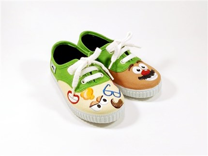 MR. ZAPATO zapatillas pintadas Mr. Pinnot