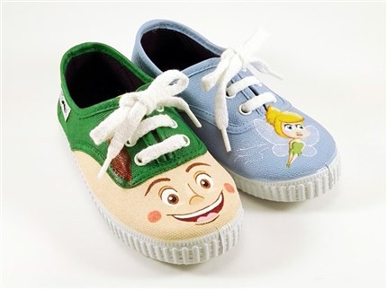 PETER PAN zapatillas pintadas Mr. Pinnot
