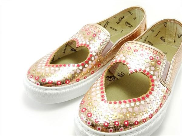 SLIP ON CORAZON  METALIZADO rosa (1)