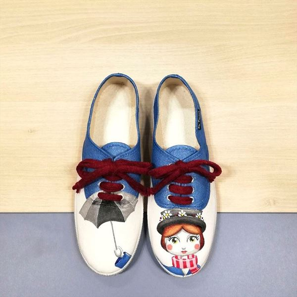 Zapatillas MARY POPPINS paraguas